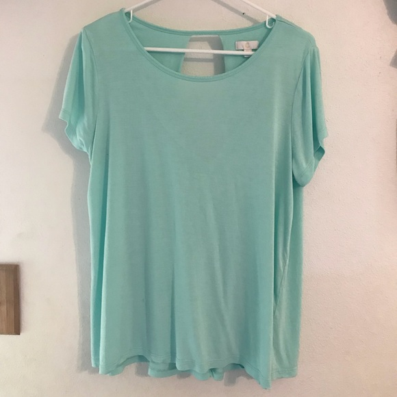 68f044bfc2f Charming Charlie Tops - Charming Charlie's Mint Green Top Size XL